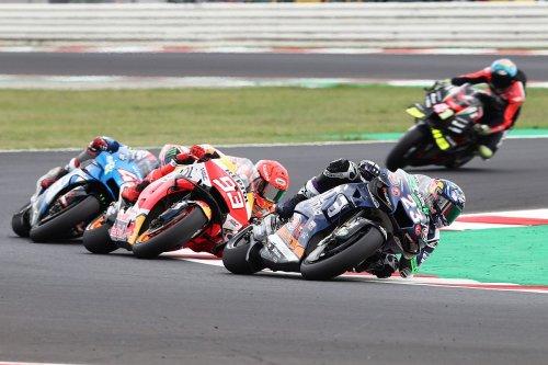 Bastianini: Overtaking 'MotoGP boss' Marquez for first MotoGP podium fantastic