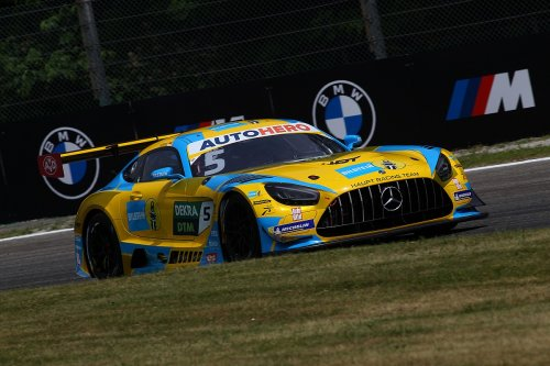 Mercedes driver Abril disqualified from Monza DTM weekend