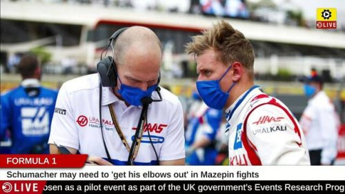 Formula 1: Schumacher may need to 'get his elbows out' in Mazepin fights - Formula 1 Videos