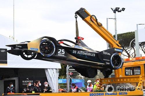 Vergne, Bird call on FIA to move Rome start-line after FE crash