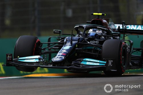 Bottas 'couldn't trust rear-end' of Mercedes car in Imola Q3
