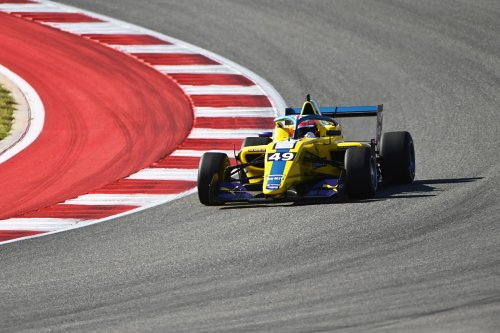 W Series US: Pulling pips Chadwick to race one pole, Powell ninth