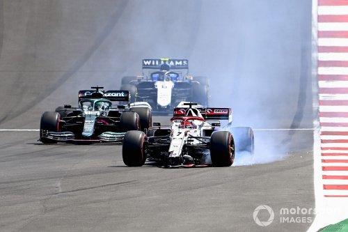 Raikkonen reveals his son teased him over F1 Portuguese GP crash