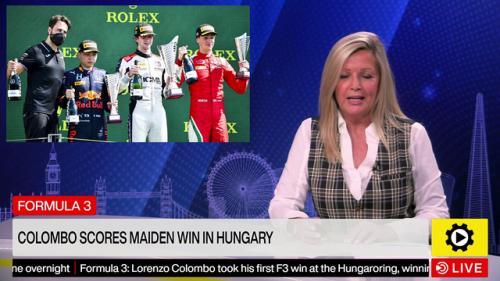 Formula 3: Colombo scores maiden win in Hungary - FIA F3 Videos
