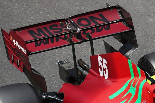 Mission Winnow logos removed from Ferrari F1 cars for EU races