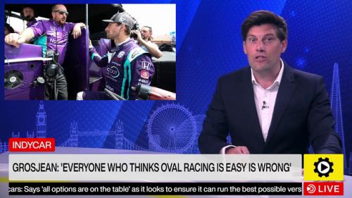 IndyCar: Grosjean - 'Everyone who thinks oval racing is easy is wrong' - IndyCar Videos