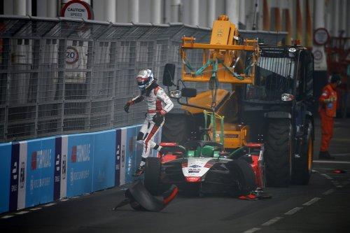 Rast, Buemi at odds over race-ending London Formula E clash