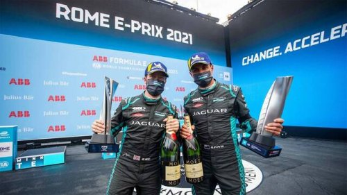 Jaguar Racing | Round 3 & 4 | Rome E-Prix Highlights - Formula E Videos