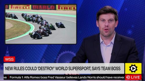 "New rules could ""destroy"" World Supersport - World Superbike Videos"
