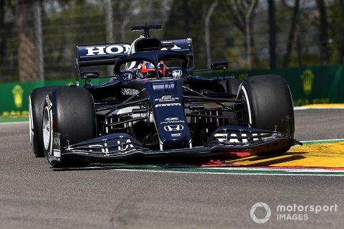 Tsunoda got 'too excited' before Imola qualifying crash