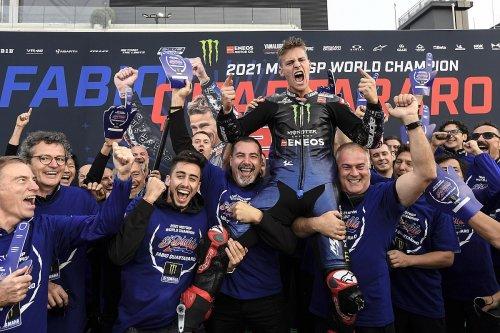 Yamaha peut savourer son titre, plus que celui de 2015