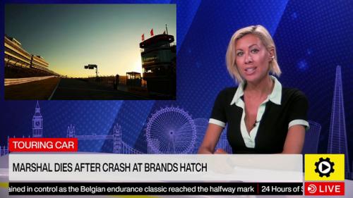 Touring Car: Marshal dies after crash at Brands Hatch - National Videos