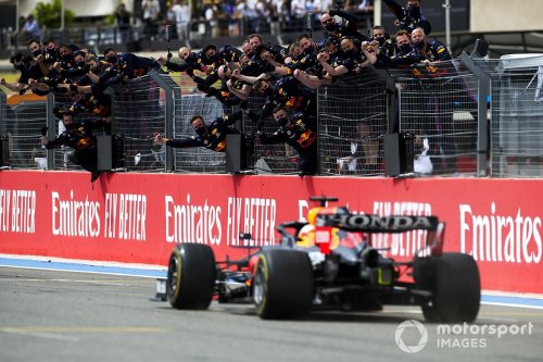 Red Bull: French GP win disproves 'accusations' over rear wing and tyre pressures