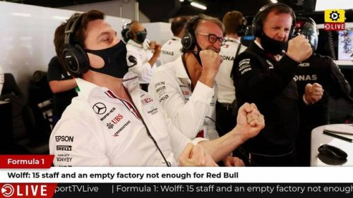F1: 15 staff and an empty factory not enough to build an engine - Wolff - Formula 1 Videos