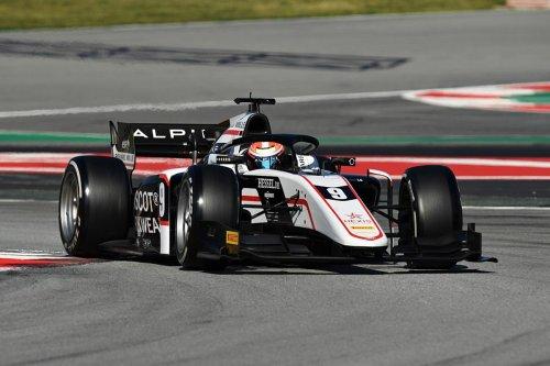 Lundgaard quickest on first day of Formula 2 Barcelona test