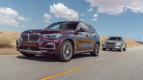 2021 Genesis GV80 vs. 2020 BMW X5 Comparison Test: Duel of the Luxury Kings