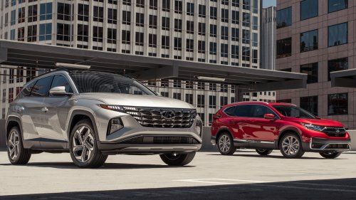 2022 Hyundai Tucson Limited vs. 2021 Honda CR-V Touring Comparison