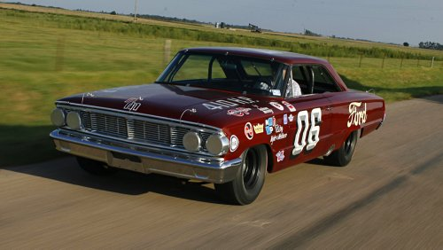 This 1964 Holman-Moody Ford Galaxie NASCAR Racer Was Abandoned for 40 Years