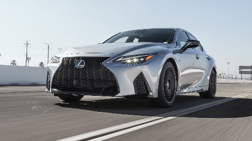 2021 Lexus IS 350 F Sport First Test: Sporty Enough?