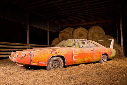 1969 Dodge Charger Daytona Barn Find Heading to Auction