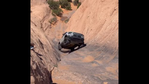 Callin' This Crossover Weak? Watch Ford's Bronco Sport Climb Hell's Gate