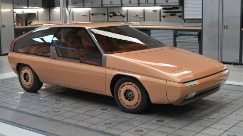 Mazda Just Restored Its Amazing MX-81 Aria Concept Styled by Bertone