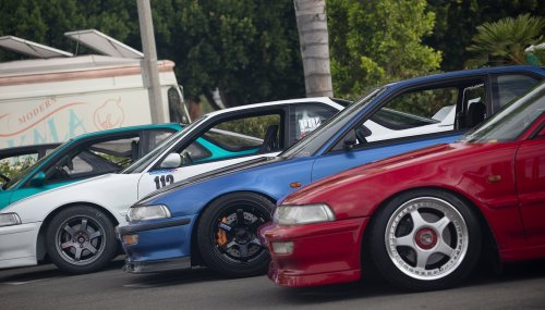 1990–1993 Acura Integra Owners Gather to Celebrate the Legendary DA/DB2