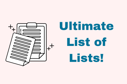 67 Lists to Organize Your Life and Boost Your Mood