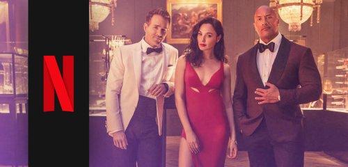 Sündhaft teurer Netflix-Film: Gal Gadot vermöbelt Dwayne Johnson & Ryan Reynolds im neuen Action-Trailer