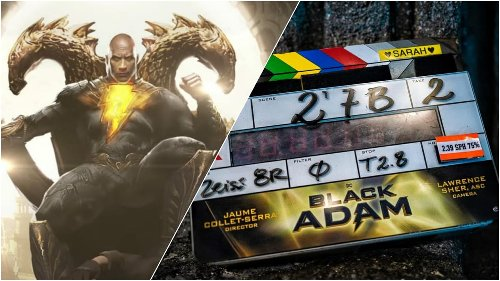 DC's 'Black Adam' Officially Begins Filming [Breaking News]