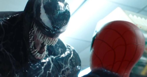 Venom Vs. Spider-Man Crossover Teased in Quickly-Deleted Art Shared by Tom Hardy