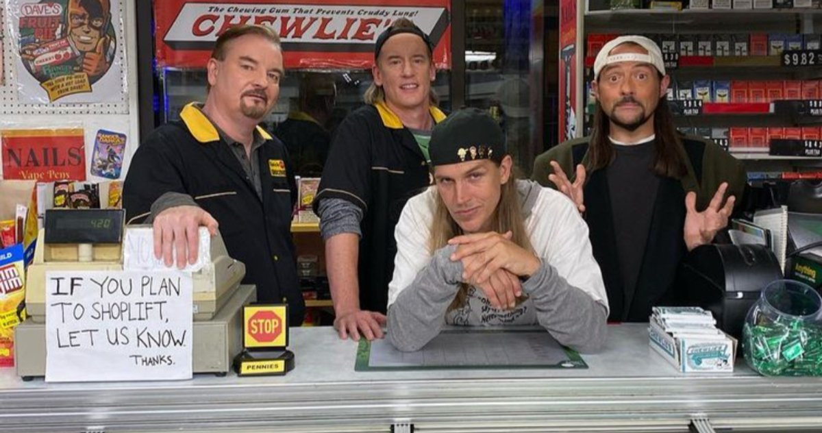 Clerks III Officially Wraps Filming, Kevin Smith Shares Final Set Photo