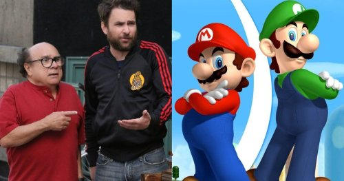 It's Always Sunny Fans Want Danny DeVito to Join Charlie Day in the Super Mario Bros. Movie