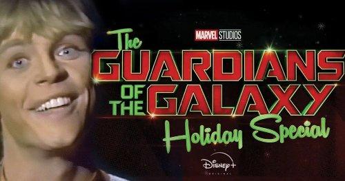 James Gunn Wraps Guardians Holiday Special Script, Mark Hamill Hilariously Responds