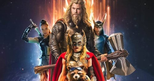 Thor: Love and Thunder Gets a New Logo That Pays Tribute to Wrestler Owen Hart