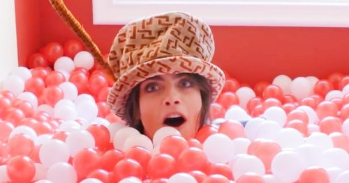 Cara Delevingne Opens the Doors to Her Adult Playhouse-Themed Mansion in NSFW Tour Video