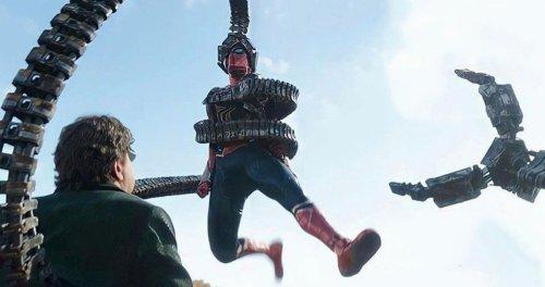 Doc Ock Captures Peter Parker in Fresh Look at 'Spider-Man: No Way Home'