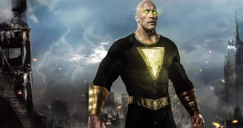 The Rock Shares Black Adam Teaser with His Daughter, and It's Too Cute