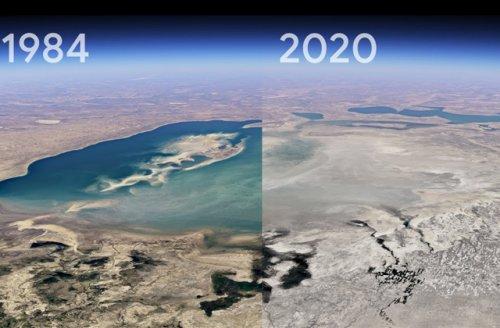 В Google наглядно показали, как изменилась наша планета за 37 лет