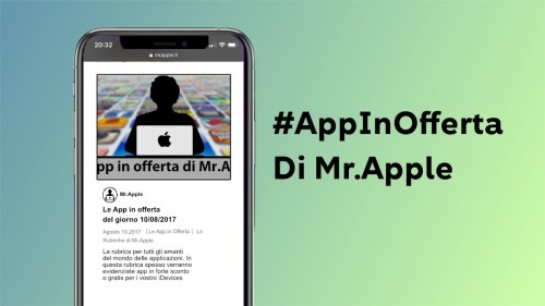 Le App in offerta del giorno 10/05/2021 di Mr.Apple