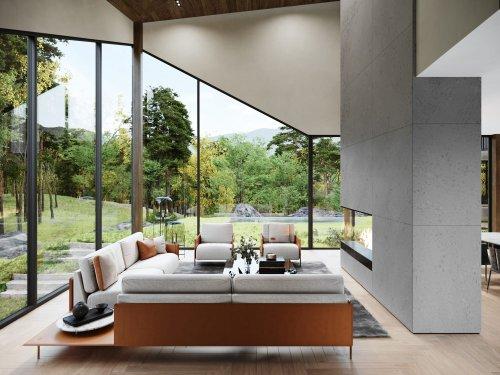 S3 Architectures und Aston Martin präsentieren ein Traumhaus im Bundesstaat New York