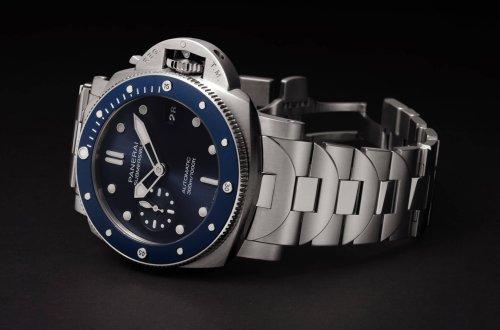 Un nouveau bracelet pour la Submersible Blu Notte PAM01068