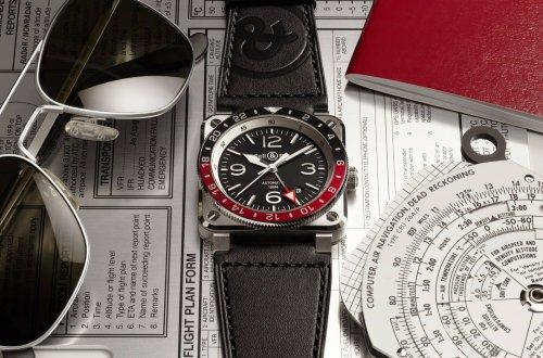 BR 03-93 GMT de Bell & Ross : un concentré de design, de fonction et de lisibilité