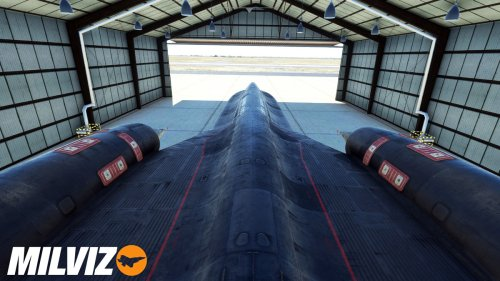 Milviz reveals its first image of the legendary SR-71 Blackbird for Flight Simulator - MSFS Addons