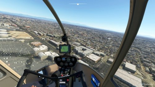 Rotor Sim Pilot's freeware helicopter, the Robinson R44, is now available for MSFS - MSFS Addons