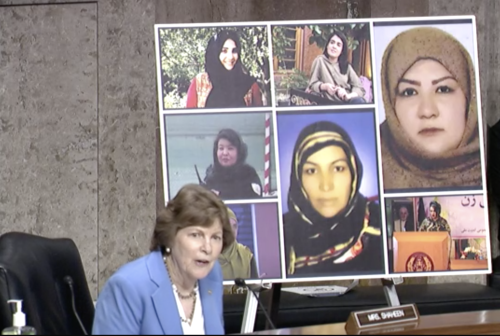 Bipartisan Senate Concern for Security and Women's Rights Post-U.S. Withdrawal from Afghanistan
