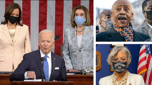 "Keeping Score: Biden Raises Refugee Cap; Liz Cheney Warns Republicans, ""Our Children Are Watching""; One in Four Women Cite Financial Woes"