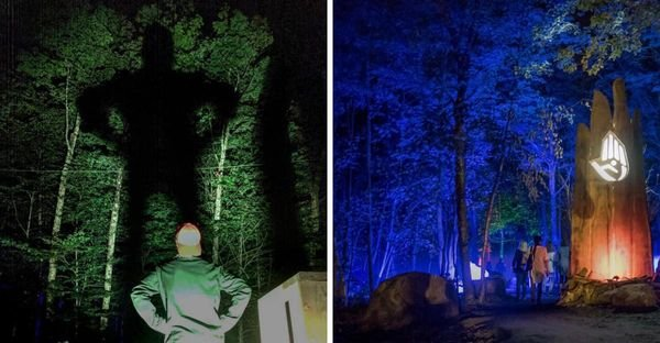 Mont Tremblant's Enchanted Pathway Lets You Search For Giants In The Woods
