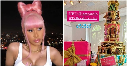 This Montreal Company Gifted Cardi B A Massive WAP-Inspired Vibrator Cake For Her Birthday