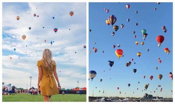 Breathtaking Hot Air Balloons Will Fill The Sky Near Montreal In August